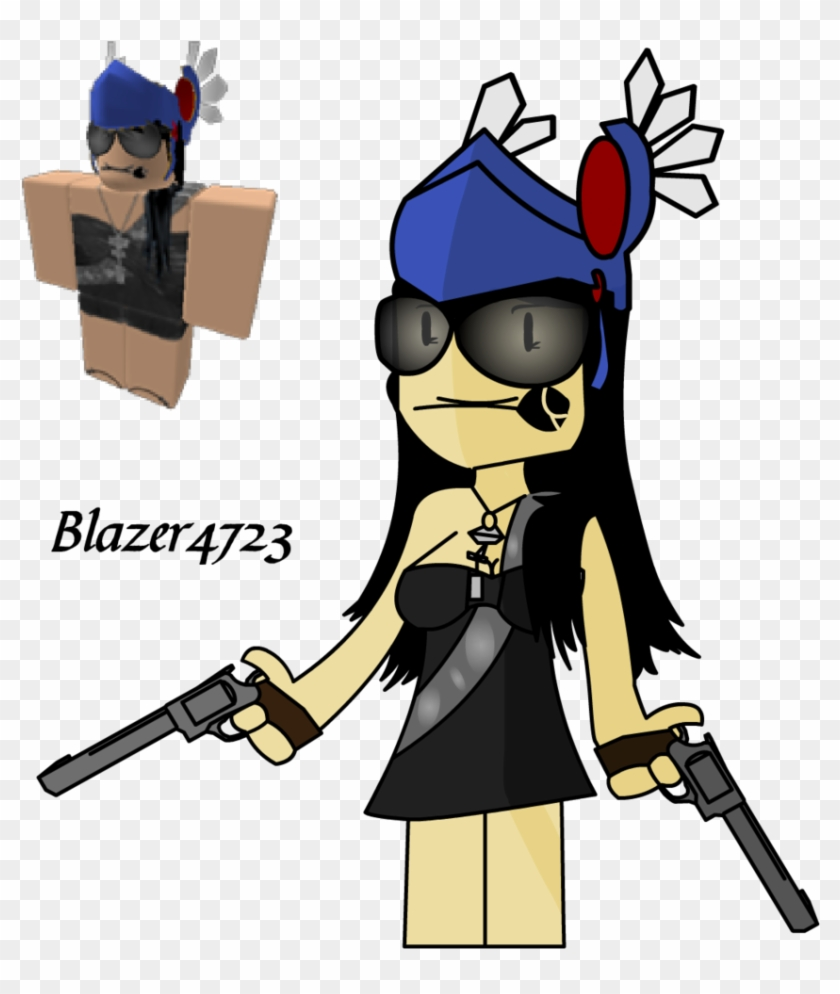 Easy Roblox Drawings Blaze4723 Drawing By Guttc Cool People On Roblox Free Transparent Png Clipart Images Download