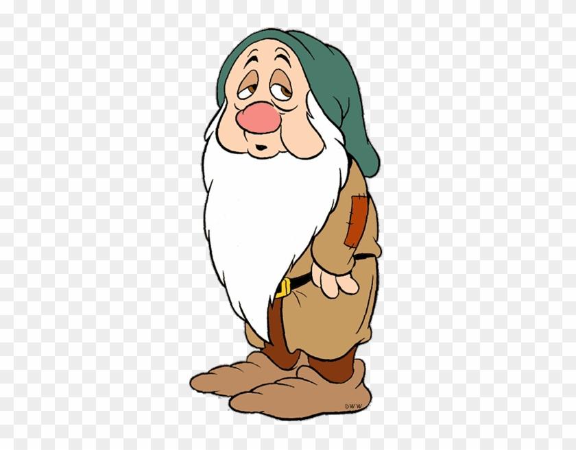 Bashful Snow White Clipart - Snow White And The Seven Dwarfs Sleepy #968355