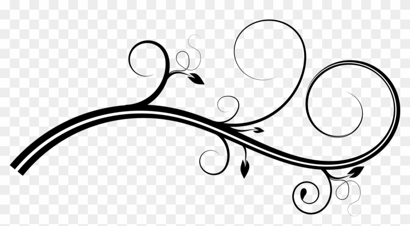 simple swirl clipart - 840×464