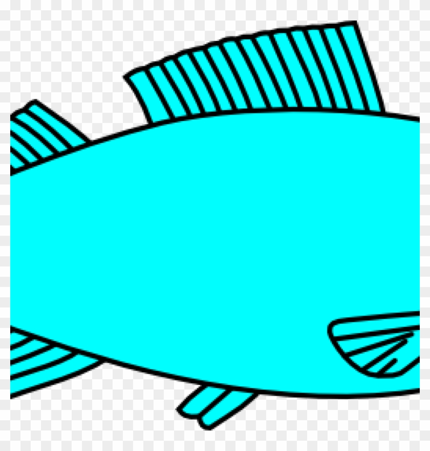 Free Fish Clipart Fish Clip Art At Clker Vector Clip - Fish Clipart Black And White #968748