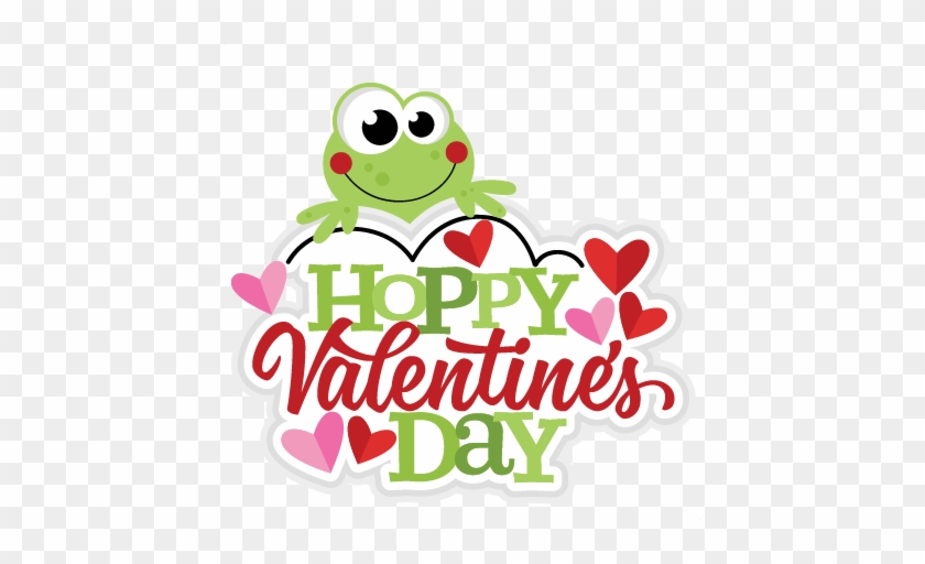 Hoppy Valentine S Day Svg Scrapbook Cut File Cute Clipart Cartoon