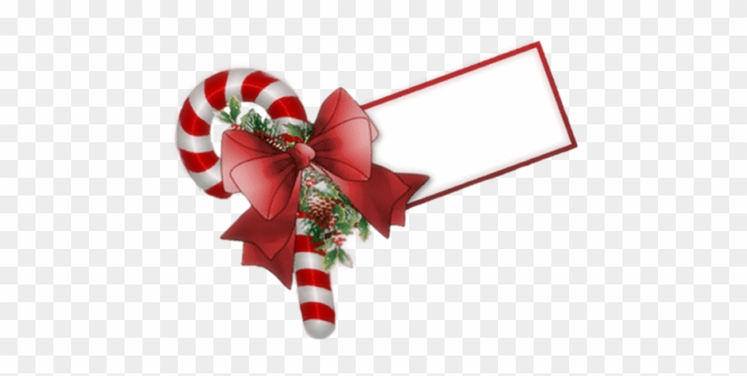 Christmas Candy Cane Tag Clip Art - You Re Welcome Christmas #969224