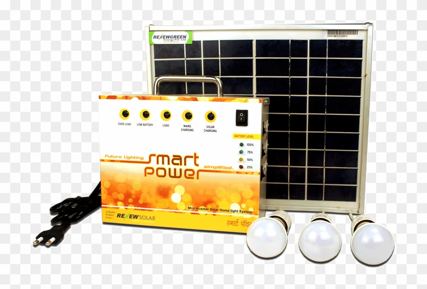 Solar Led Lights - Electric Power System - Free Transparent PNG