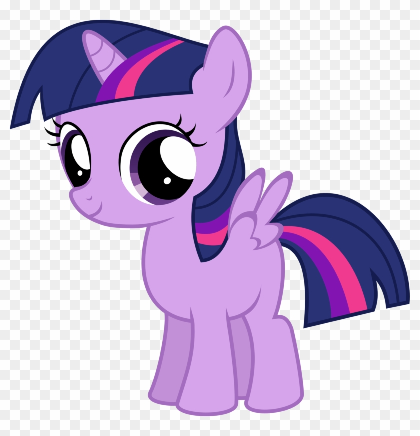 My Little Pony Baby Twilight Sparkle Alicorn - My Little Pony Twilight  Sparkle Filly - Free Transparent PNG Clipart Images Download