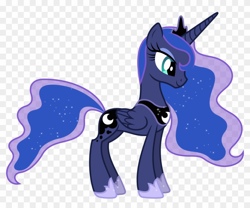 Little Pony And The Festival Against Coloring Pages Mlp Fim Princess Luna Free Transparent Png Clipart Images Download