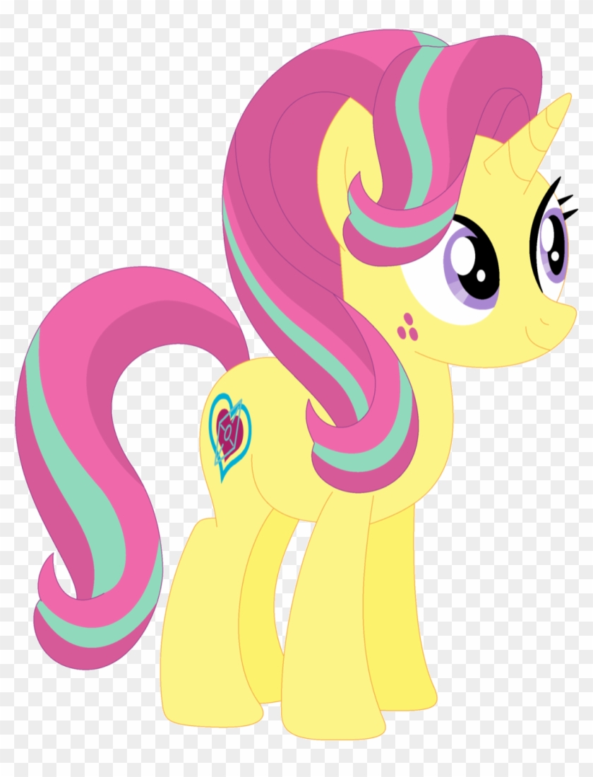 Ra1nb0wk1tty, Female, Mare, Pony, Recolor, Safe, Simple - Unicorn Pink No Background #970333