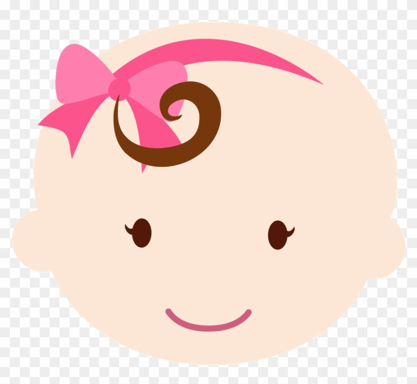 Say Hello Dibujos Bebe Nina Baby Shower Free Transparent Png