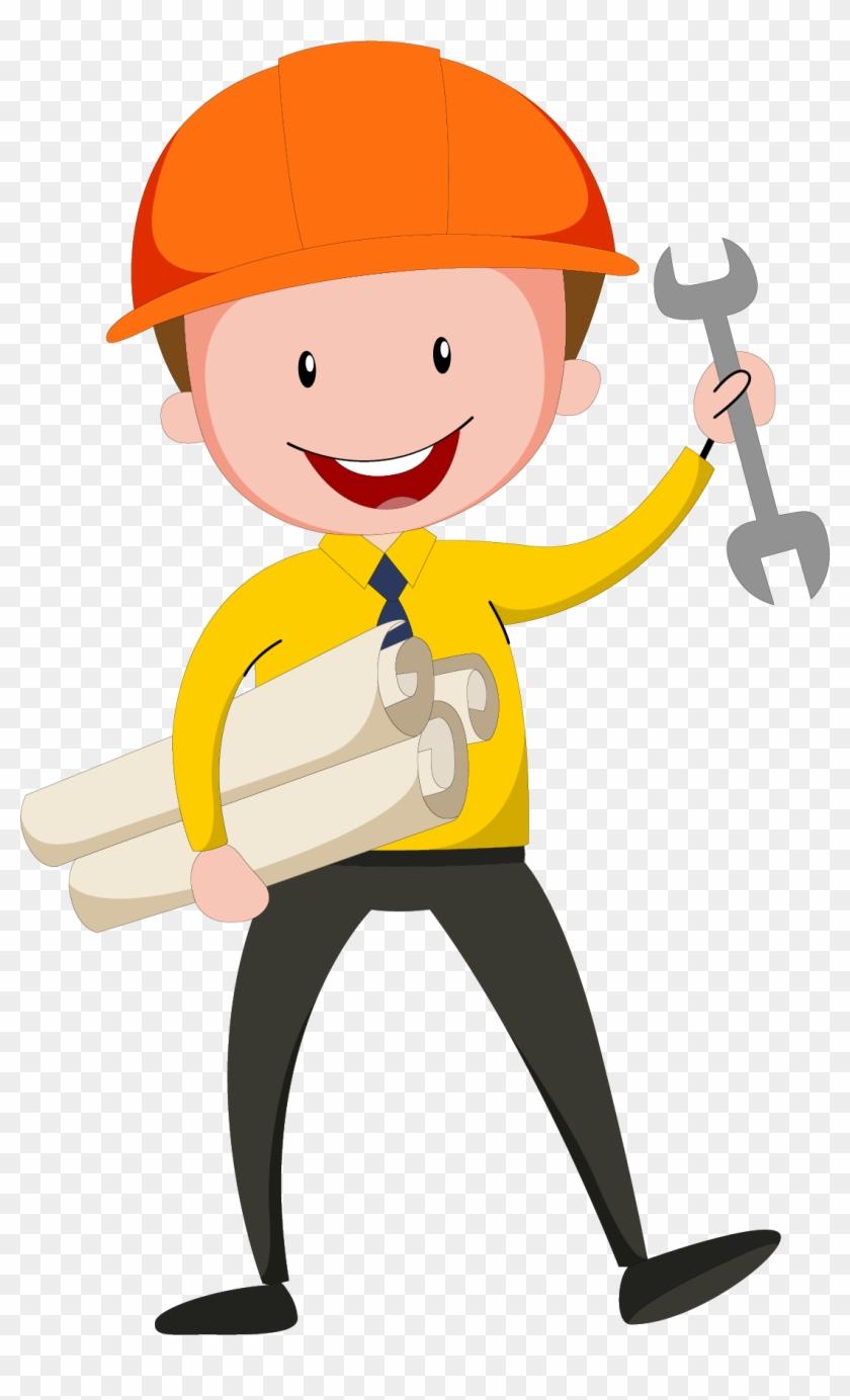 civil engineering design engineer - engineer vector - free