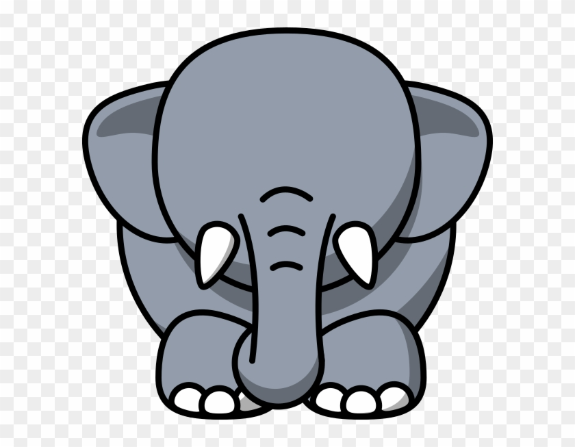 Cartoon Elephant Sad #971936