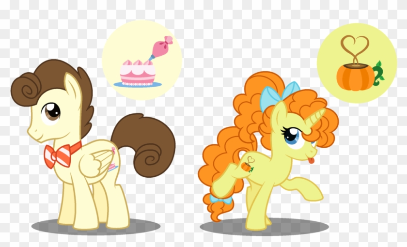 Older Cake Twins By Strawberry-spritz - Mlp Pound Cakes Cutie Mark #972087