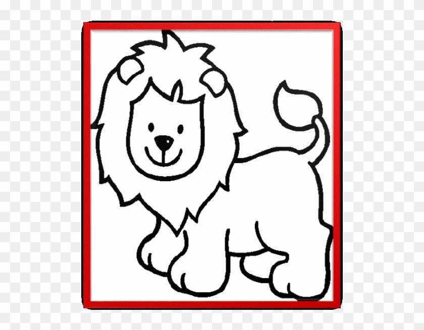 Único Animales Lindos Para Colorear Páginas Para Imprimir - Lion ...