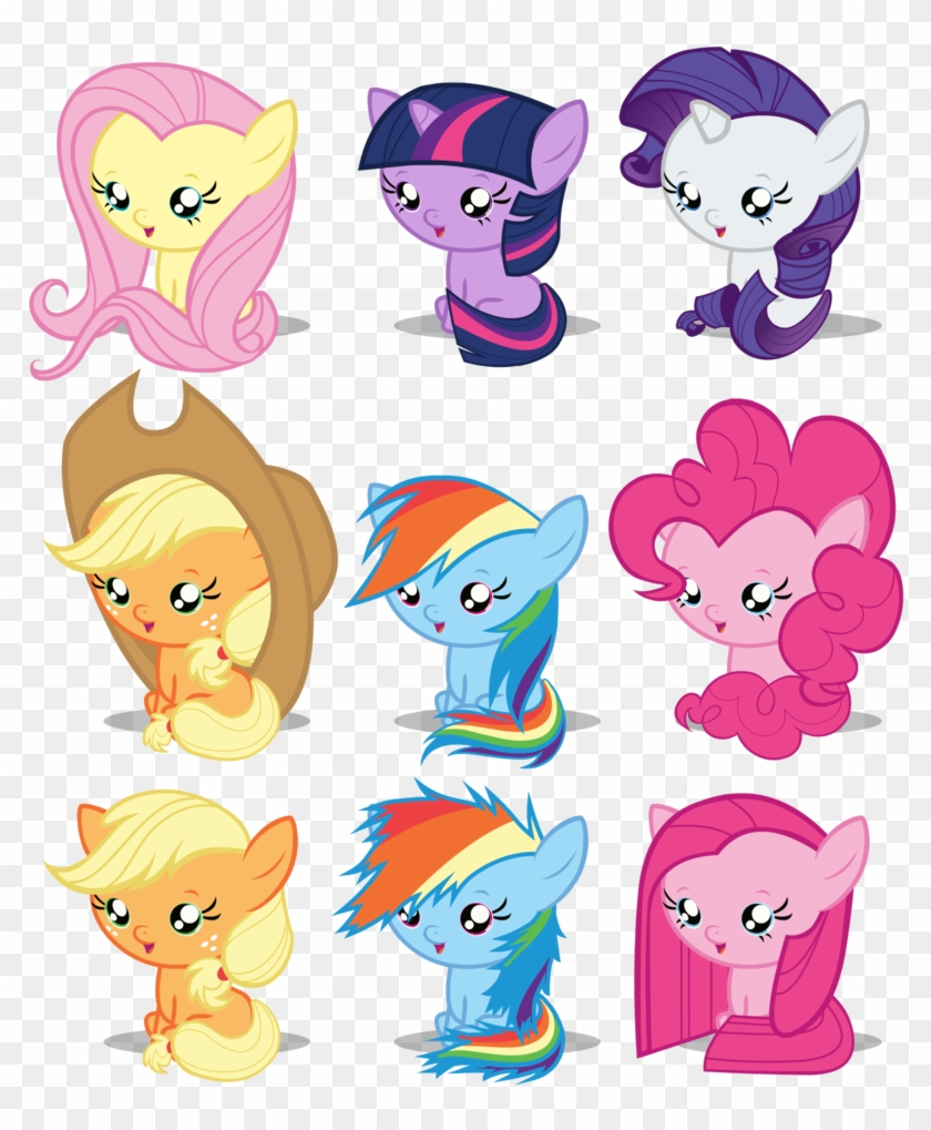 - Baby Rarity My Little Pony - My Little Pony Baby Ponies - Free
