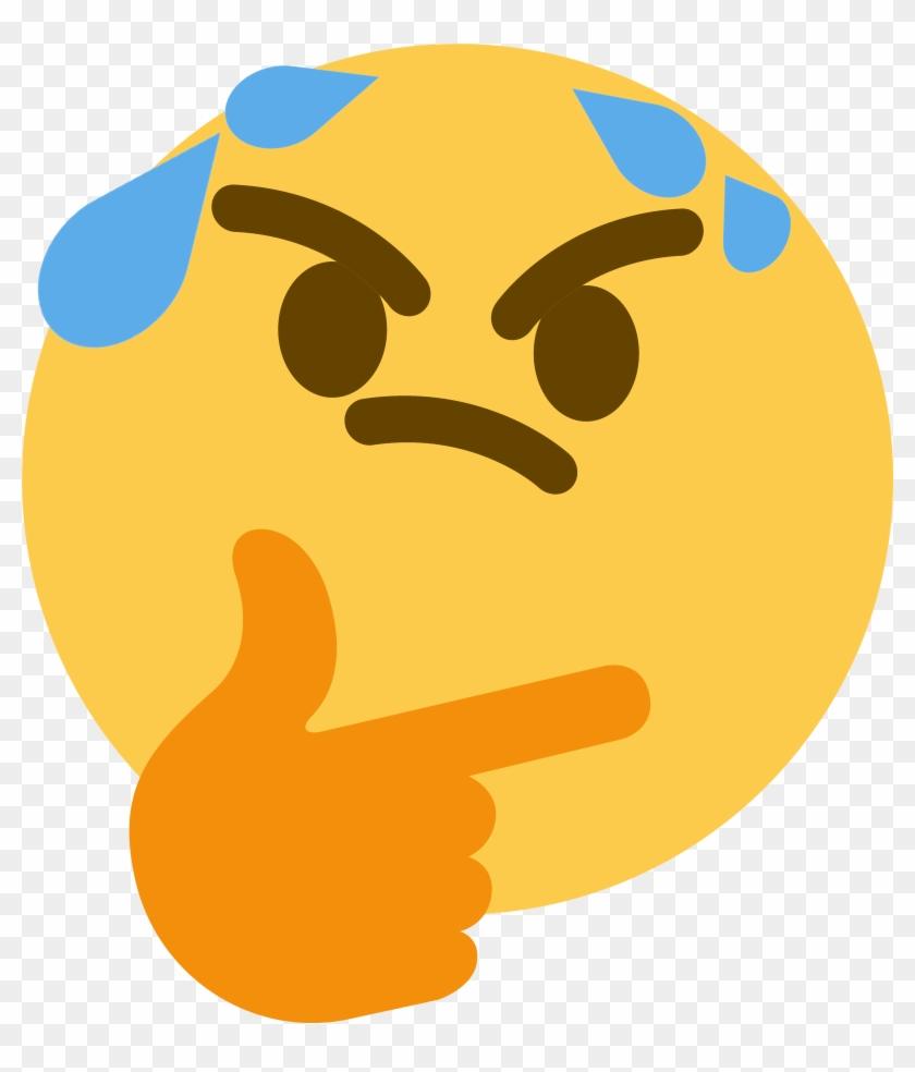Thinksweat Discord Emoji - Thinking Emoji Gif #974737