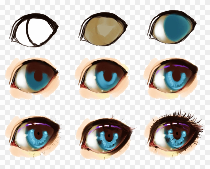 Some Help For Drawing Eyes - Anime Eyes Digital Art #975022