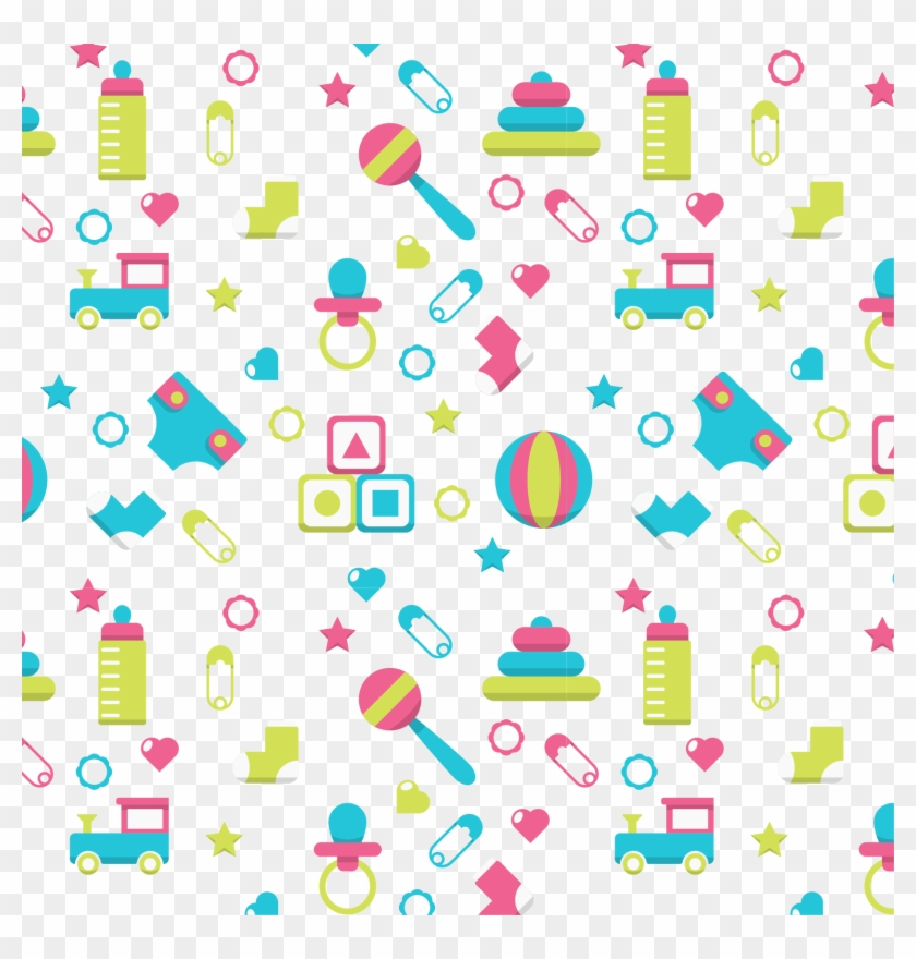 Vector Background Shading Baby Toys Toys Background Png Free