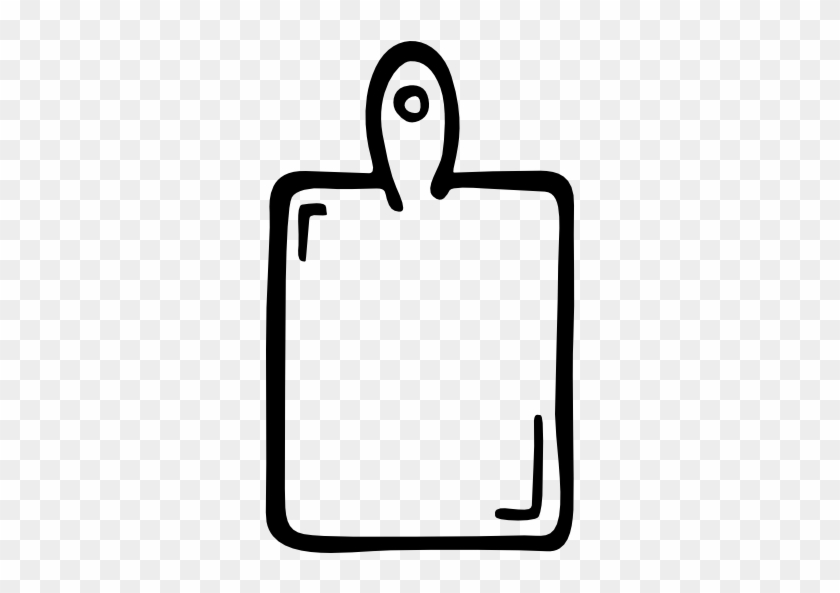 Wood Board Hand Drawn Kitchen Tool Free Icon - Kitchen Icon Hand Drawn Png #975871