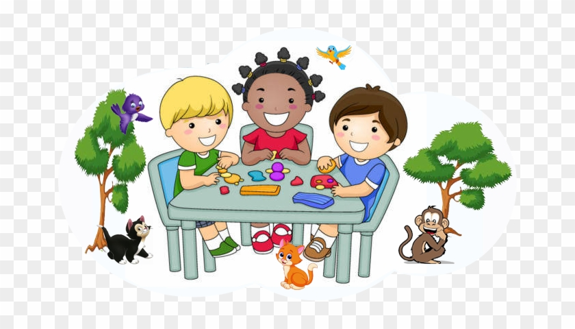 Nectar's Cove Pre-school, Day Care, Activity Center - Preschool Small Group Time Clipart #976367
