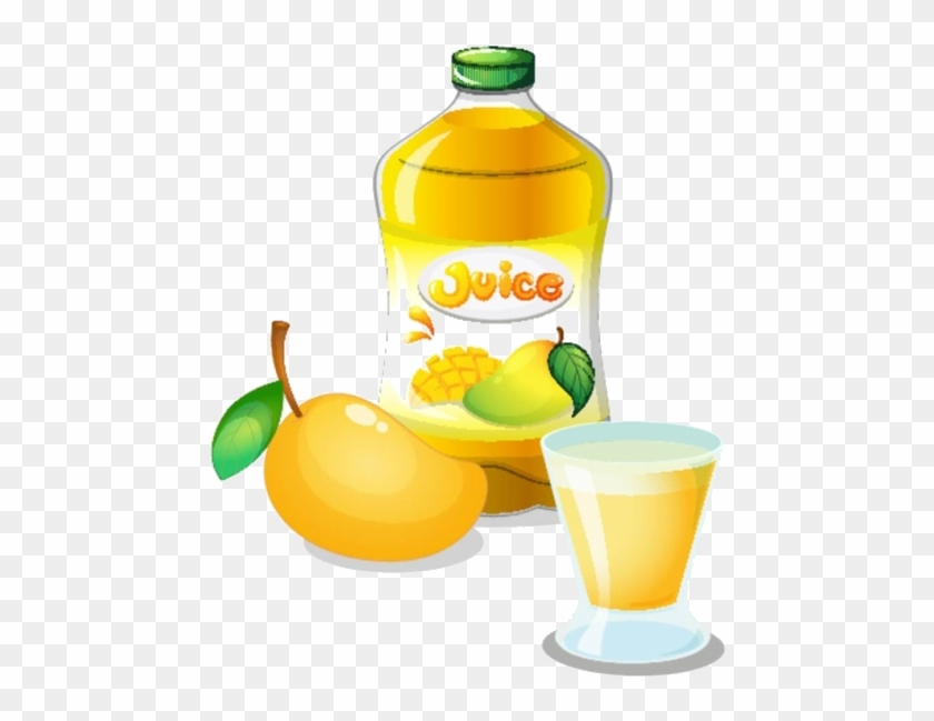 Juice Mango Stock Photography Clip Art - Orange Juice Bottle Clip Art #976386