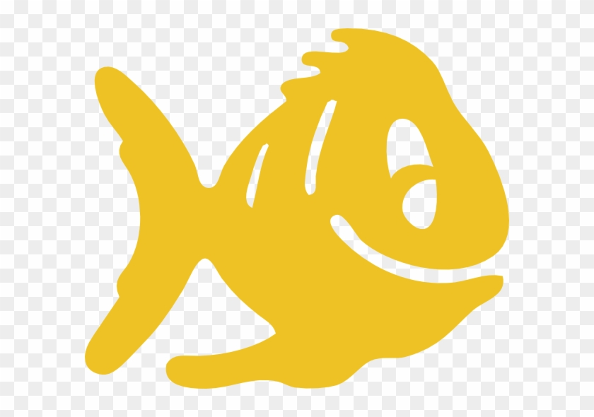 This Free Clip Arts Design Of Yellow Fish - Fish Icon #976723