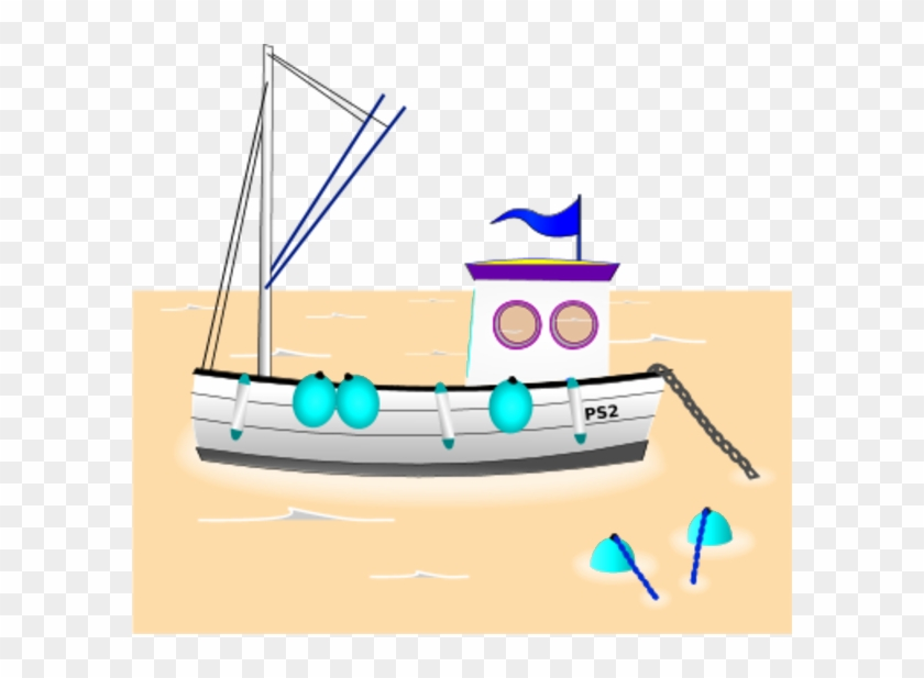 Course Clipart Intervention - Fishing Vessel #977085