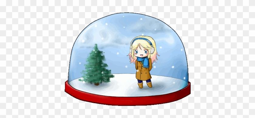 Globe Free Download Clip Art - Snow Globe Animated Gif #977291