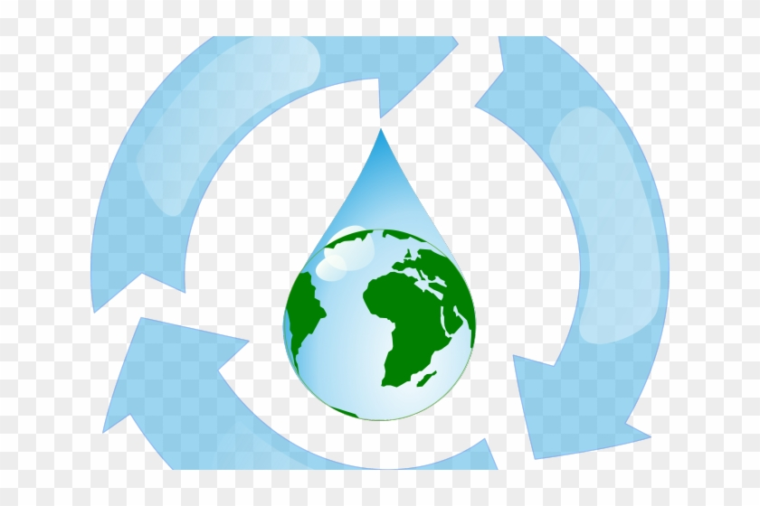 Globe Clipart Water - Save Earth Save World #977327