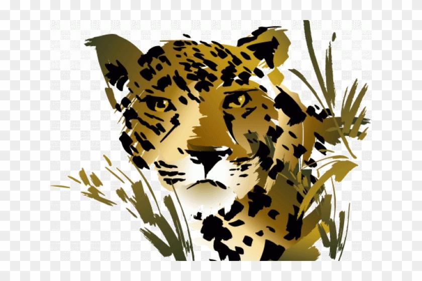 Jaguar Clipart Rainforest Snake - Rainforest Animals Clipart #977396