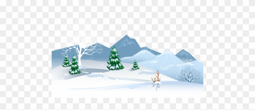 Winter Ground With Snow Png Clipart Image - Snow On Ground Clipart #977660