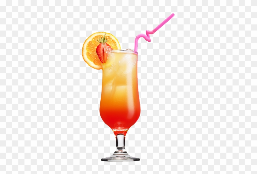 Verre Cocktail Png - Tequila Sunrise Cocktail Png #977696