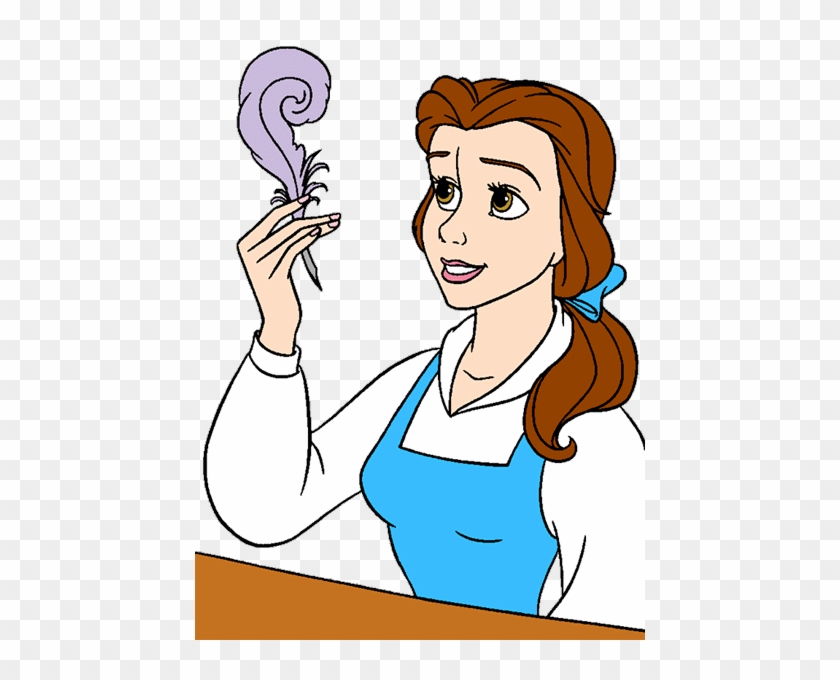Coloring Pages Belle From Beauty And
