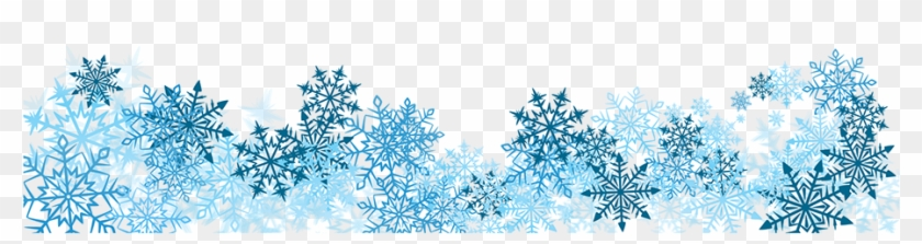 Snowflake Banner Cliparts - Snow Flake Banner Png #977821