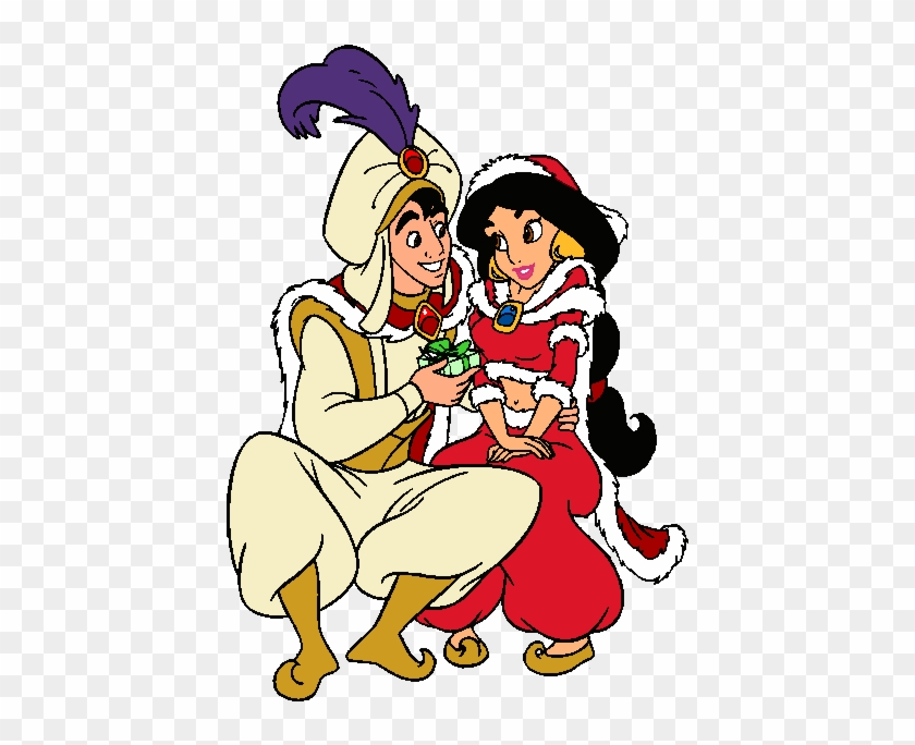 Dibujos Para Colorear De Princesas Disney Aladdin And Jasmine