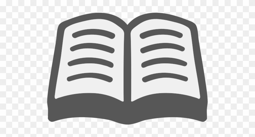 This Fun Piece Of Art Was Created With The Amazing - Open Book Png Icon #978233