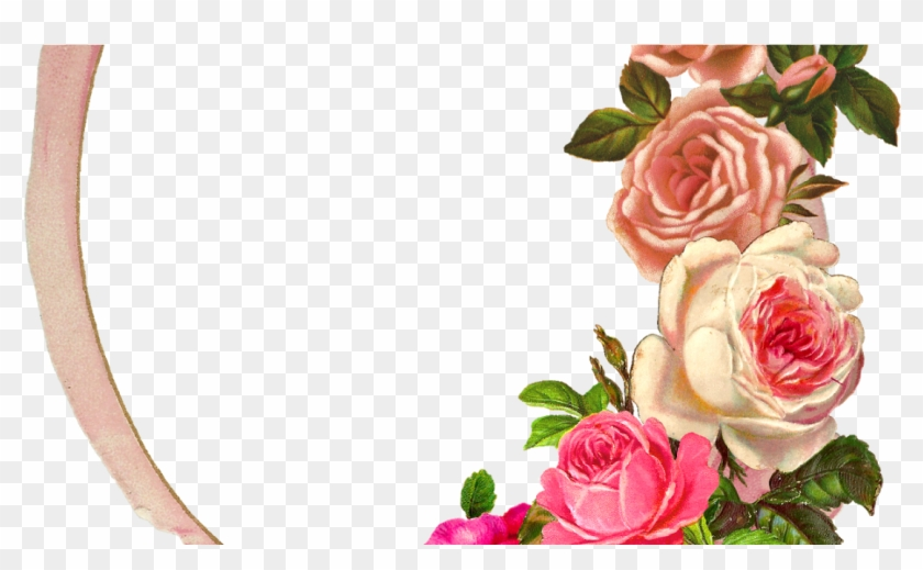 The Graphics Monarch - Rose Flower Photo Frame Png #978429