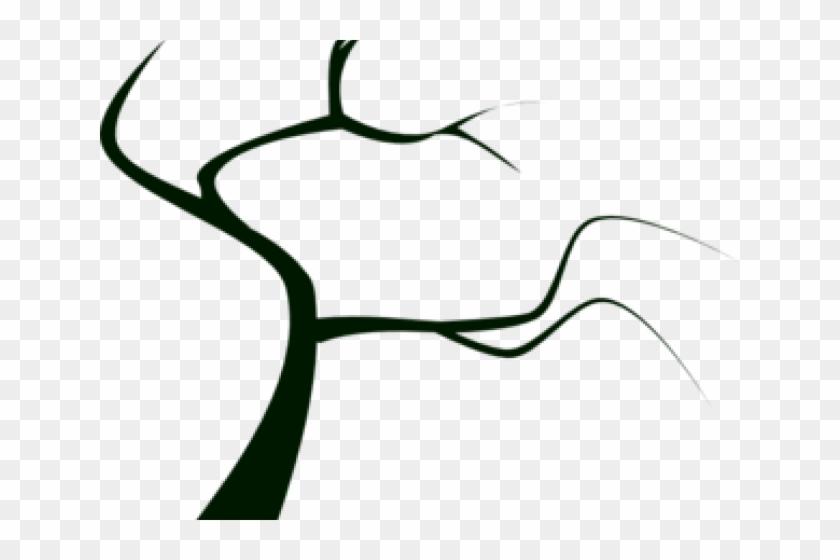 Barren Clipart - Dead Tree Clip Art #978527