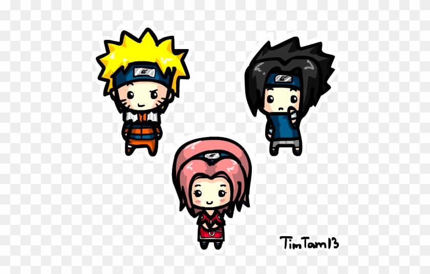 Chibi Team 7 An - Animated Chibi Character #978661
