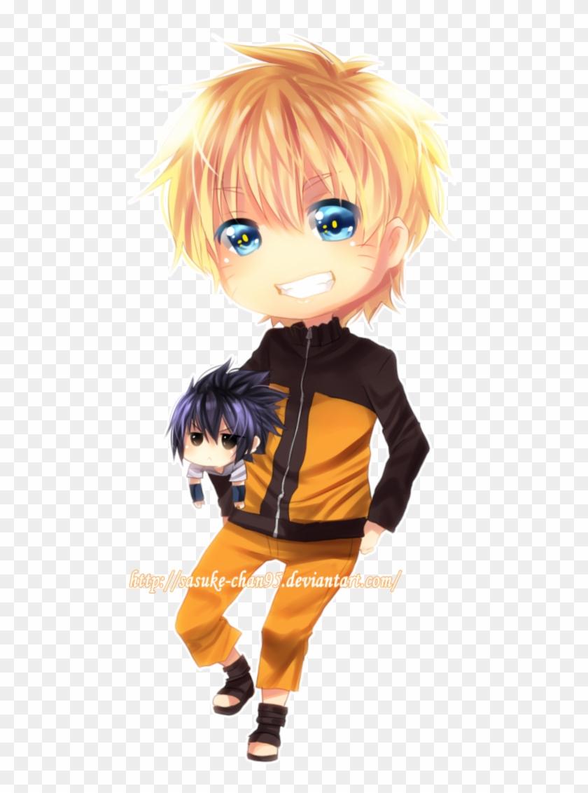 Chibi Naruto And Sasuke By Sasucchi95 Naruto And Sasuke