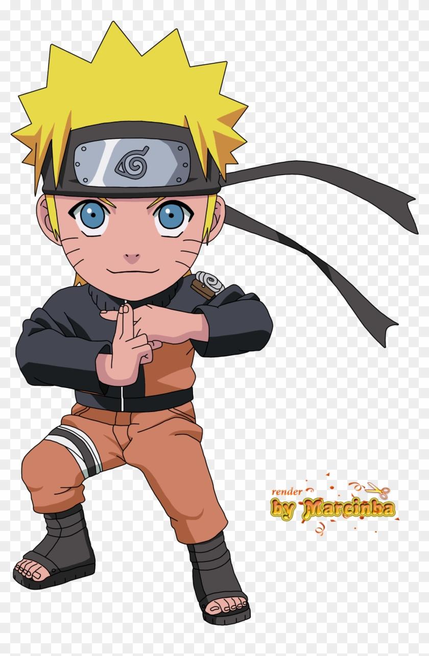 Render Chibi Naruto By Marcinha20 Render Chibi Naruto