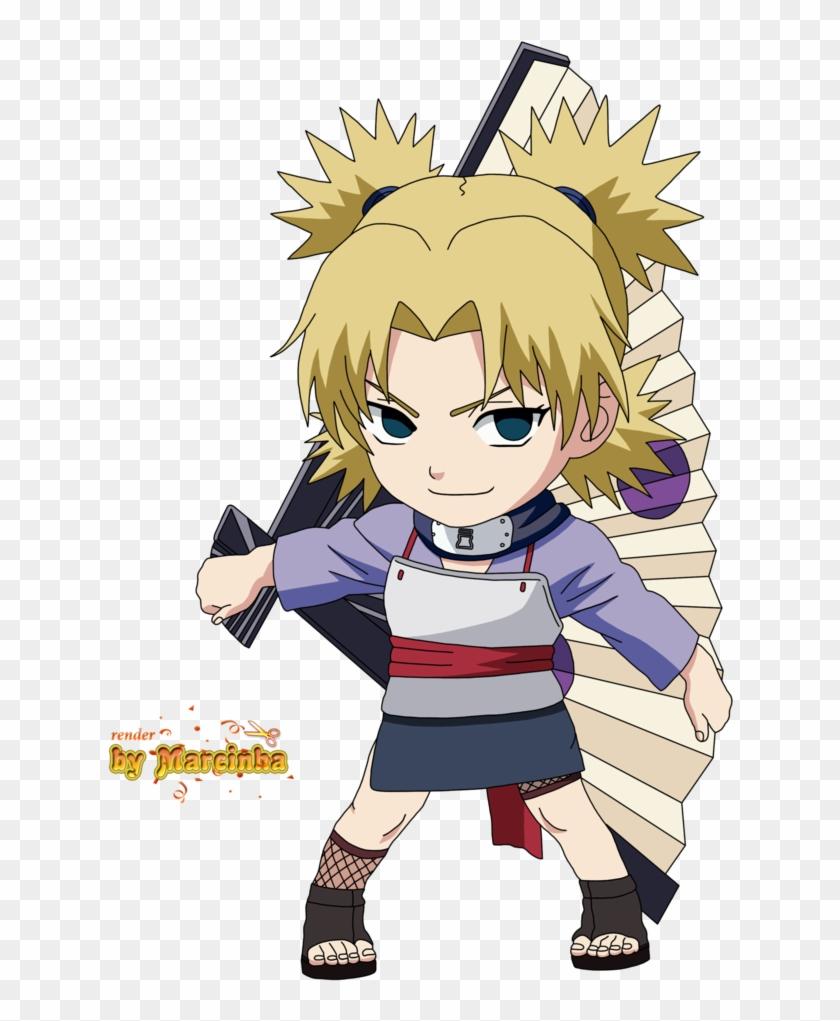 Chibi Temari Naruto Temari Chibi Free Transparent PNG