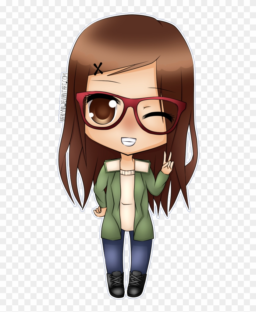 Chibi Glasses By Baeklynn On Deviantart