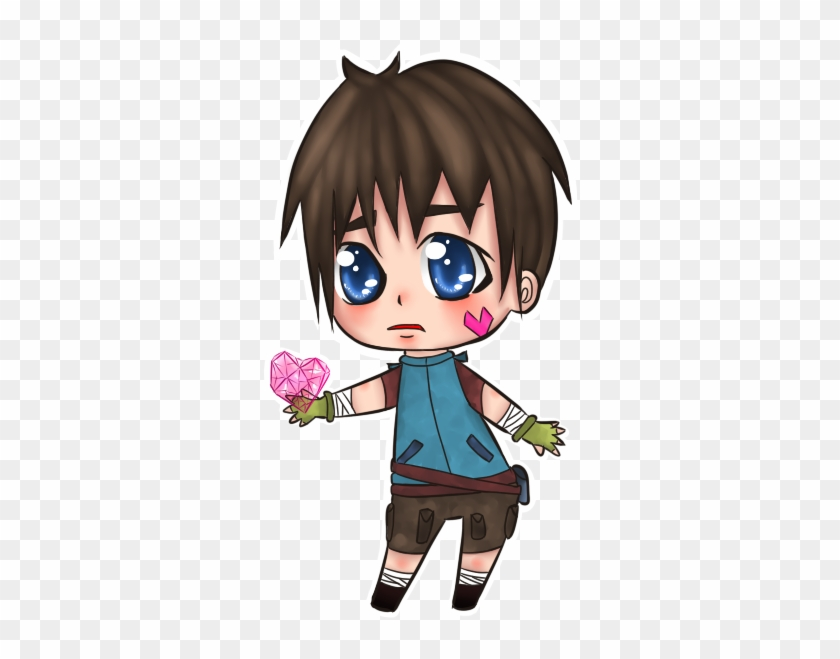 Chibi Boy By Guardianmo - Chibi Boy Brown Hair #978863
