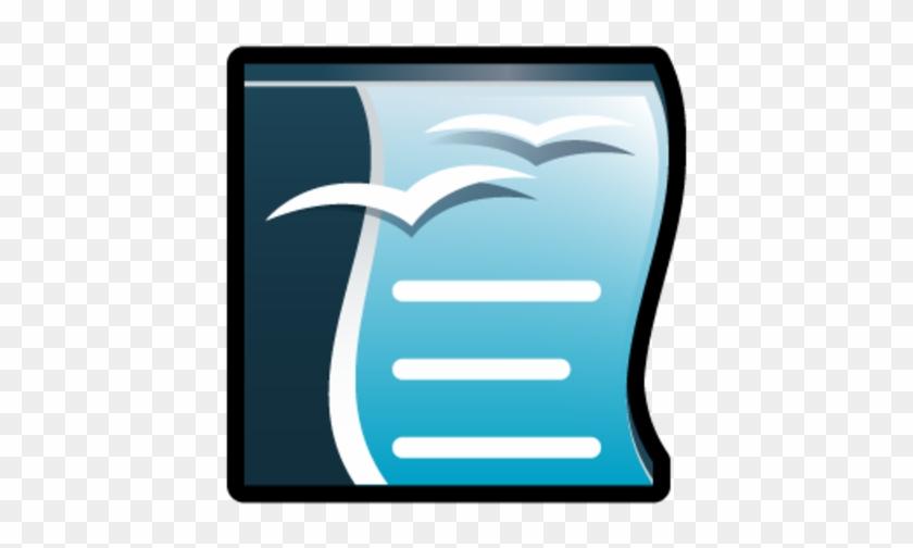 Writer De Openoffice - Open Office Writer Icon #978990