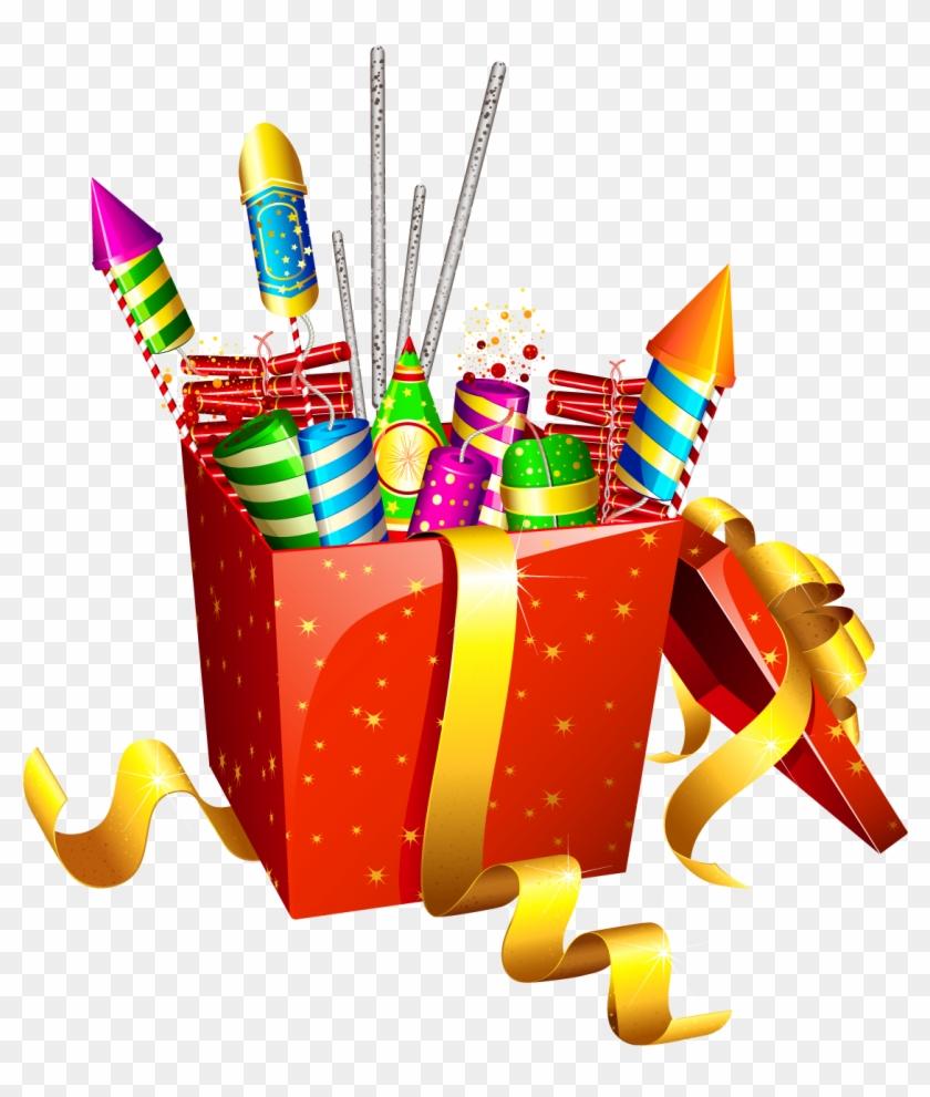 Fireworks Clipart Festival - Diwali Png #979116