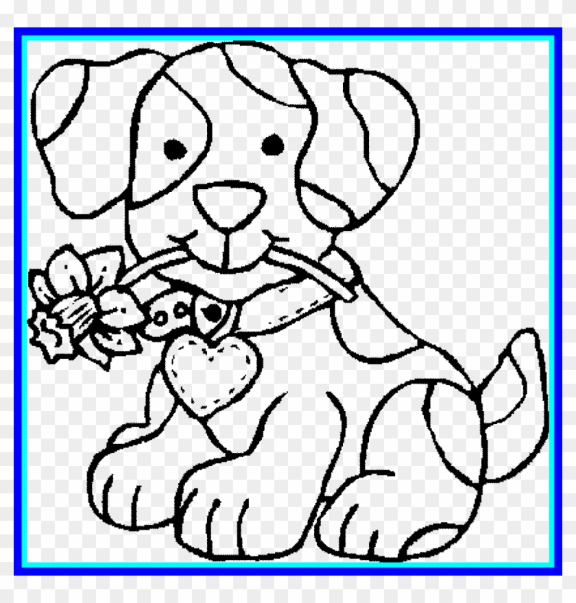 Free Printable Dog Coloring Pages For Kids   880x840