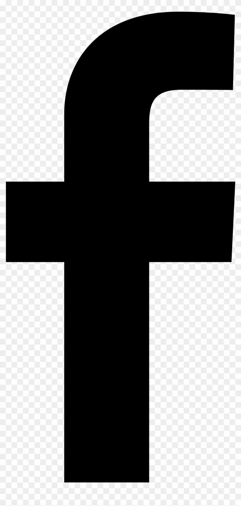 Black background icon facebook Facebook Logo