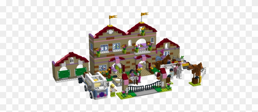 Lego Friends Summer Riding Camp Inside Pixshark Lego Friends Horse