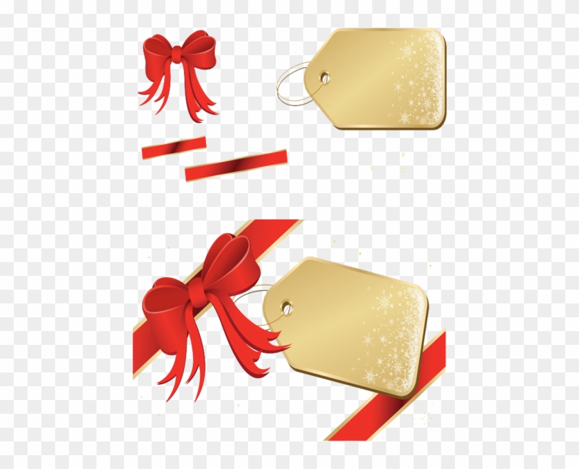 Share This Image - Christmas Gift Tag Vector - Free Transparent PNG ...