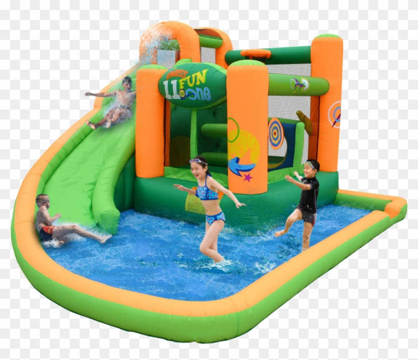 Why Buy An Inflatable Water Slide - Bounce House Water Slide #980194