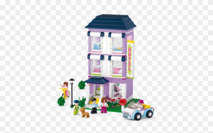 Sluban Building Blocks Girls Dream Serie Hotel #980222