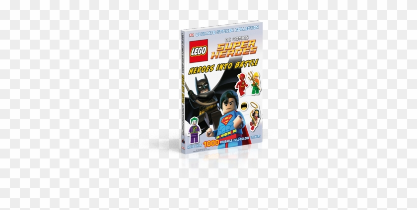Lego Dc Comics Super Heroes Come To The Rescue In This - Super Heroes: Heroes Into Battle #980331